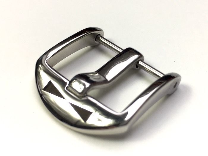 20mm OEM-buckle polished /coined
