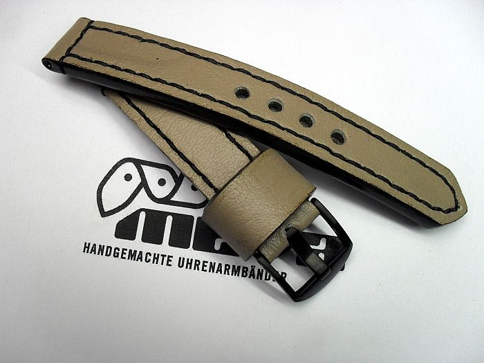"20007 - 20mm watchstrap ""Calf beige"""