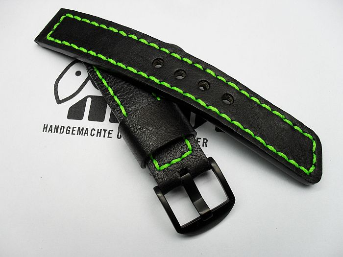 "20014 - 20mm strap ""Calf black"""