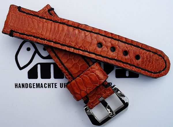 "22002 - 22mm Strap ""Chicken orange"""
