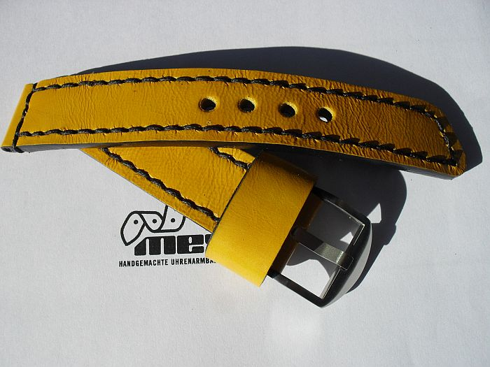 "22006 - 22mm Strap ""Calf yellow"""