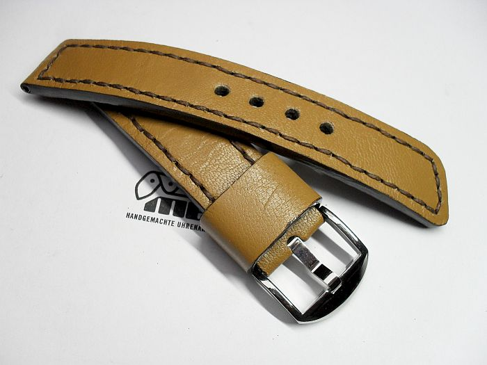 "22008 - 22mm Strap ""Calf light brown"""