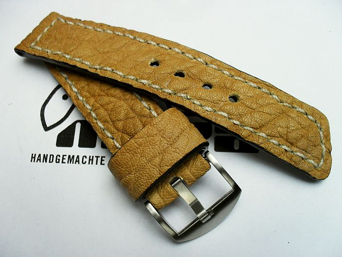 "24010 - 24mm strap ""Buffalo light brown"""