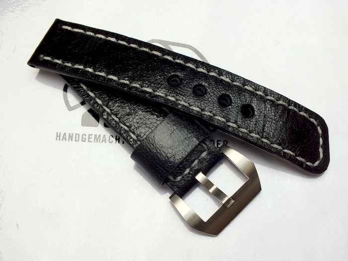 "24011 - 24mm Strap ""Calf black"""