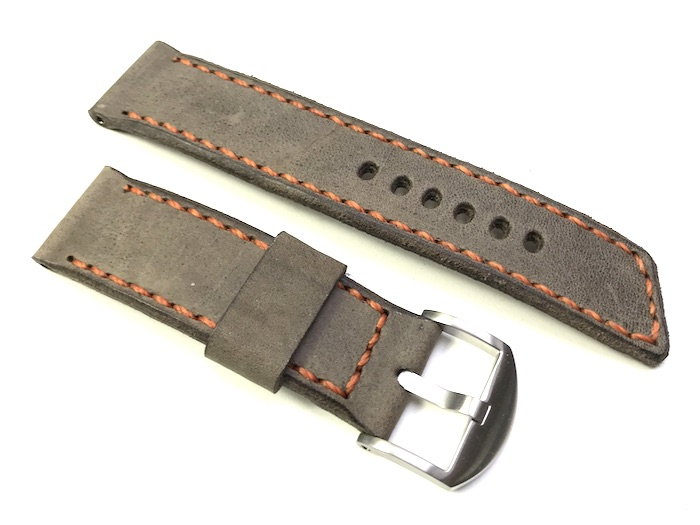 "24082 - 24mm Strap ""Calf grey vintage"""