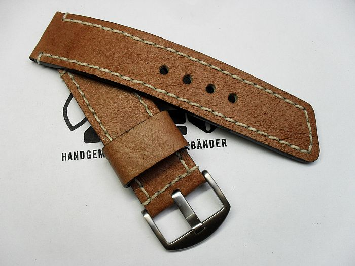 "26003 - 26mm Strap ""Calf light brown"""