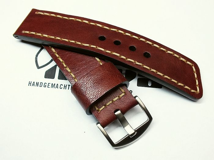"26006 - 26mm Strap ""calf red brown"""
