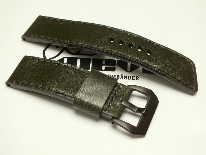 "26013 - 26mm Strap ""Calf dark green"""