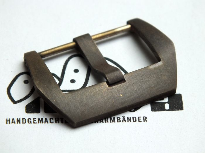 24mm PRE-V buckle bronze satined aged